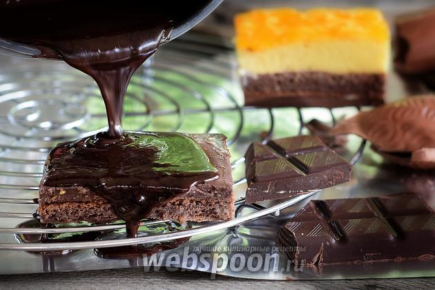 Фото Как глазировать торт