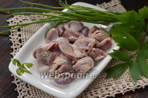 Фото совета Как варить куриные желудки