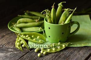 Фото совета Как заморозить зелёный горошек