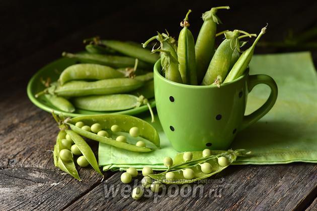 Фото Как заморозить зелёный горошек