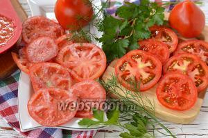 Фото совета Как заморозить помидоры