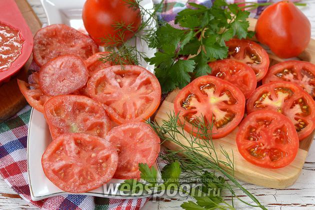 Фото Как заморозить помидоры