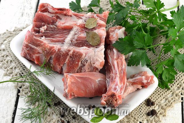Фото Как варить свиные рёбрышки