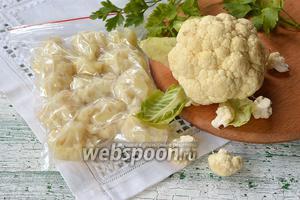 Фото совета Как заморозить цветную капусту