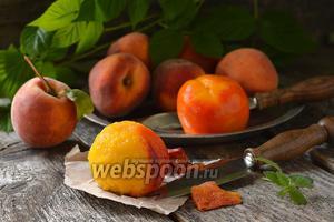 Фото совета Как почистить персик