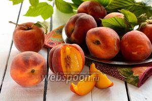 Фото совета Как заморозить персики