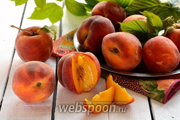 Фото Как заморозить персики