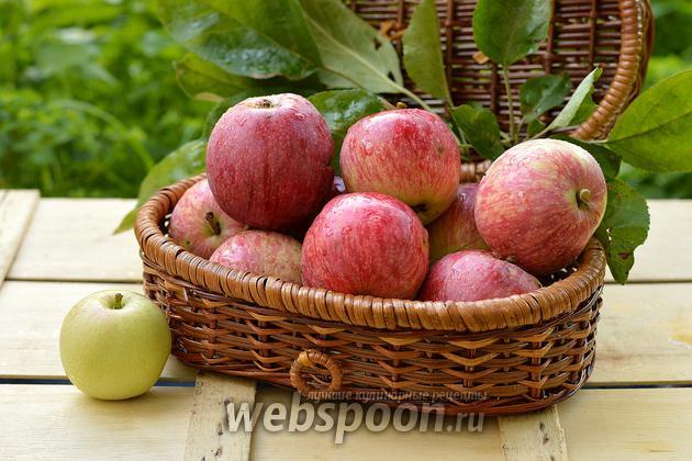 Фото Как заморозить яблоки