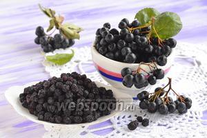 Фото совета Как сушить черноплодную рябину