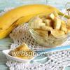 Фото совета Как нарезать бананы не снимая кожуры