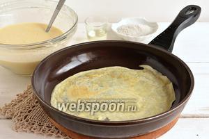 Фото совета Как подготовить сковороду для выпечки блинов