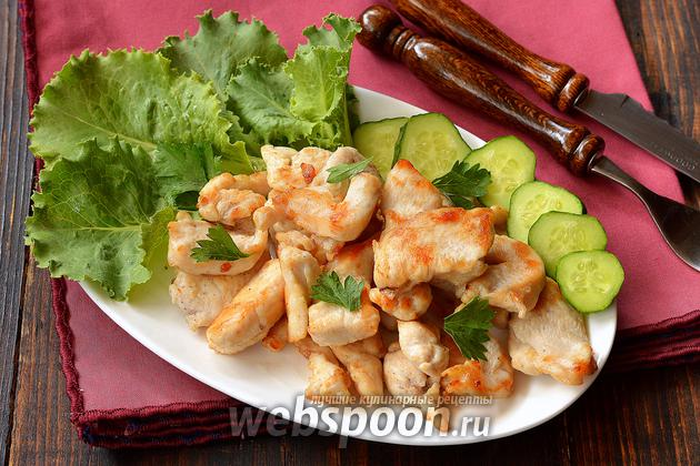 Жарить филе курицы на сковороде