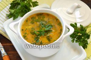 Фото совета Как сохранить цвет зелени в супе