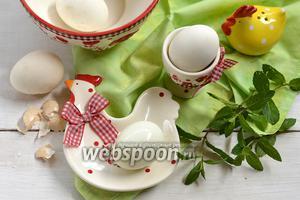 Фото совета Как чистить варёные яйца
