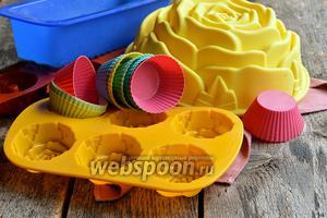 Фото совета Как пользоваться силиконовыми формами для выпечки
