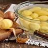 Фото совета Как чистить картошку