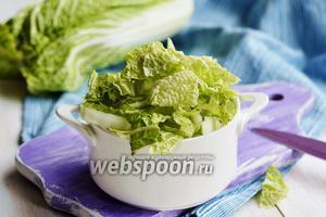 Фото совета Как варить пекинскую капусту