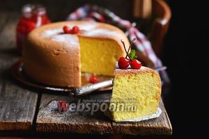 Фото совета Как приготовить пышный бисквит