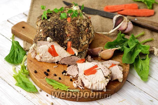 Фото Как запекать мясо в фольге
