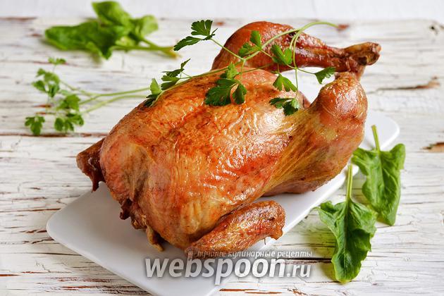 Фото Как приготовить курицу в духовке с хрустящей корочкой