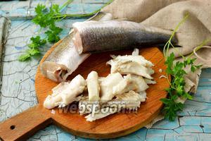 Фото совета Как легко отделить рыбу от костей