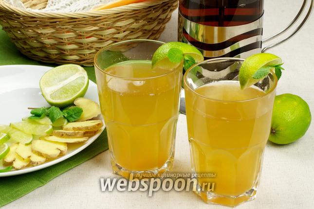Фото Имбирный напиток