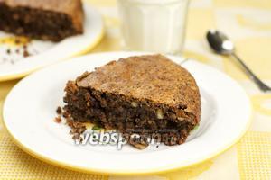Шоколадный пирог «Ореховый»