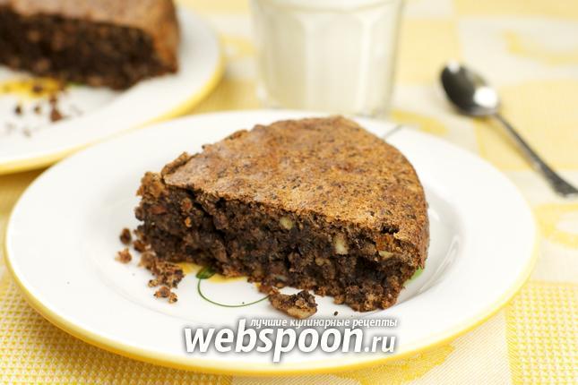 Фото Шоколадный пирог «Ореховый»