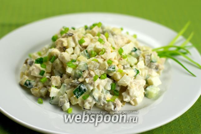 Оливье с курицы рецепт
