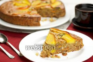 Торт с хурмой и коньяком