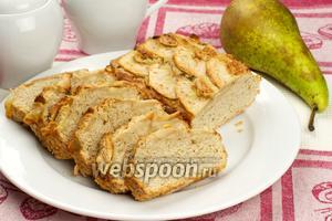 Пирог с грушами и граппой