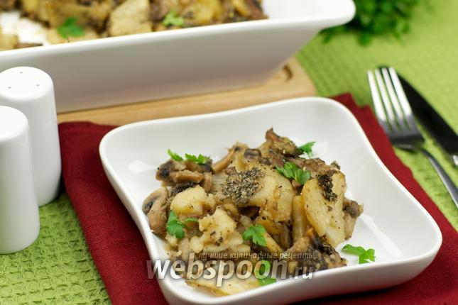 Фото Картошка с грибами