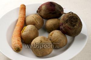 Отваренные овощи остудить.