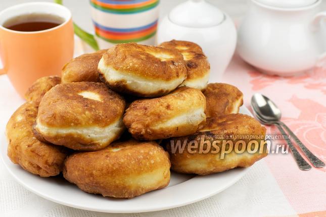 Фото Пирожки с картошкой жареные