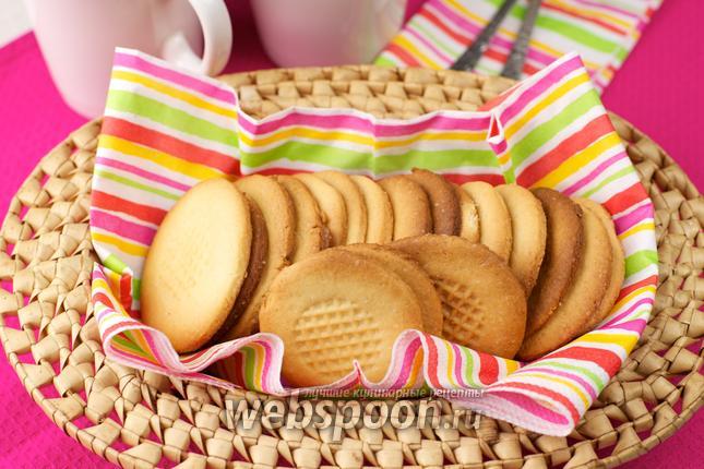 Фото Бисквитное печенье