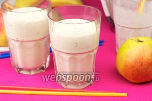 Молочный коктейль фруктовый