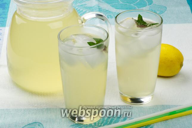 Фото Домашний лимонад с мятой