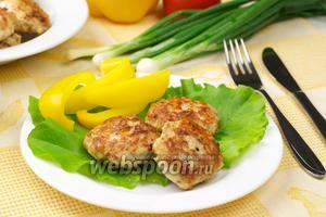 Куриные котлеты с сыром пармезан