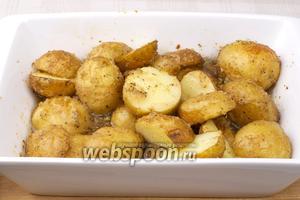 Готовность проверять ножом (если картофель проткнуть, он должен быть мягким).