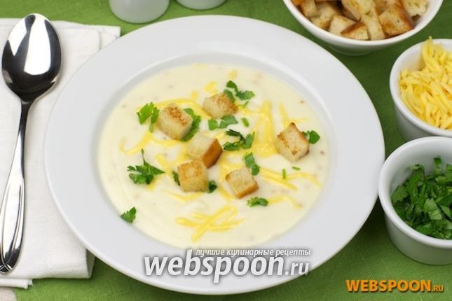 Суп крем с цветной капустой