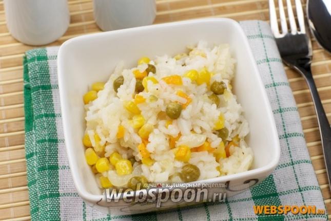 Фото Рис с овощами