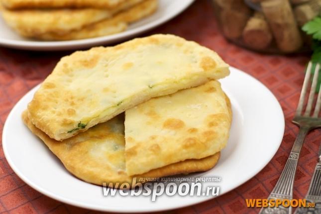 Фото Хачапури с сыром сулугуни