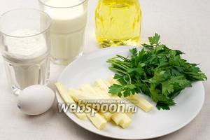 Для приготовления хачапури берём сыр сулугуни, можно вместо кефира использовать кислое молоко. Муки понадобится 3-4 стакана.