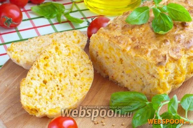 Фото Быстрый хлеб с мраморным сыром