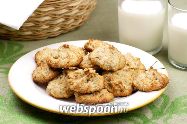 Фото Овсяное печенье с фисташками