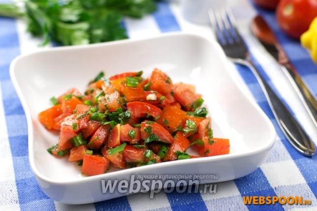 Фото Салат из томатов