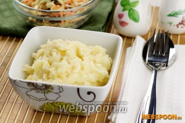 Фото Картофельное пюре с сельдереем