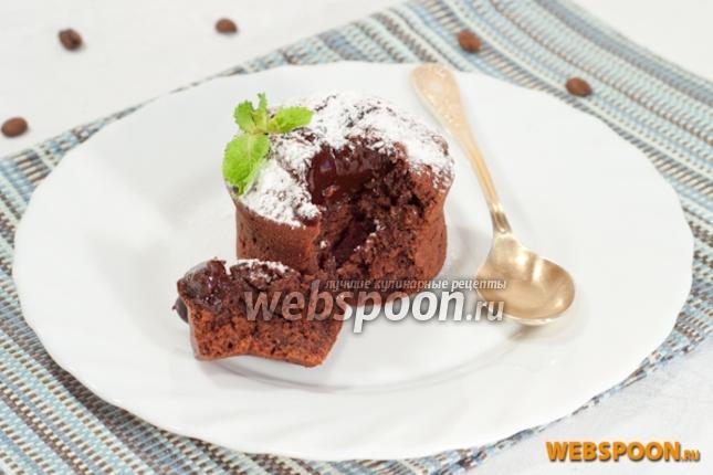 Фото Шоколадный фондан