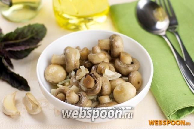 Рецепт маринование грибов шампиньонов