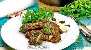 Фото рецепта Отбивные из свинины с горчицей